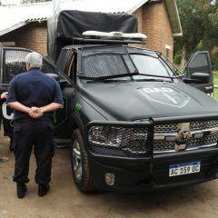 Una Camioneta de apoyo llego para el grupo GAD