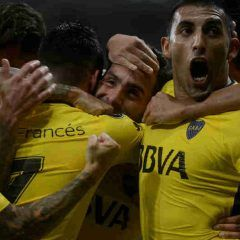 Copa Libertadores: Boca con gol de Carlitos Tevez se trajo un agonico empate