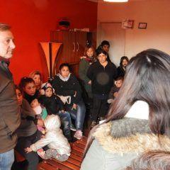 Programa de empleo en el Barrio 60 viviendas de Quequen
