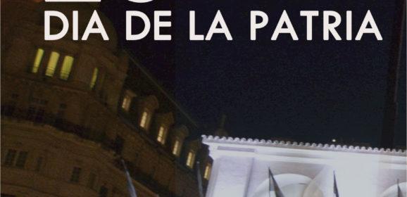 FELIZ DIA DE LA PATRIA