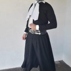 Walter Rodriguez tercero en un certamen de malambo